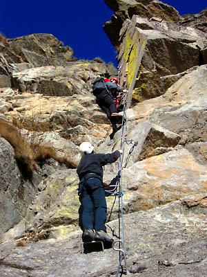 Oropa monte tovo ferrata nito staich for Camino sul ponte rialzato